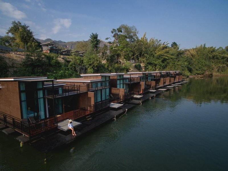 Kanchanaburi's new floating villas were made for weekend getaways